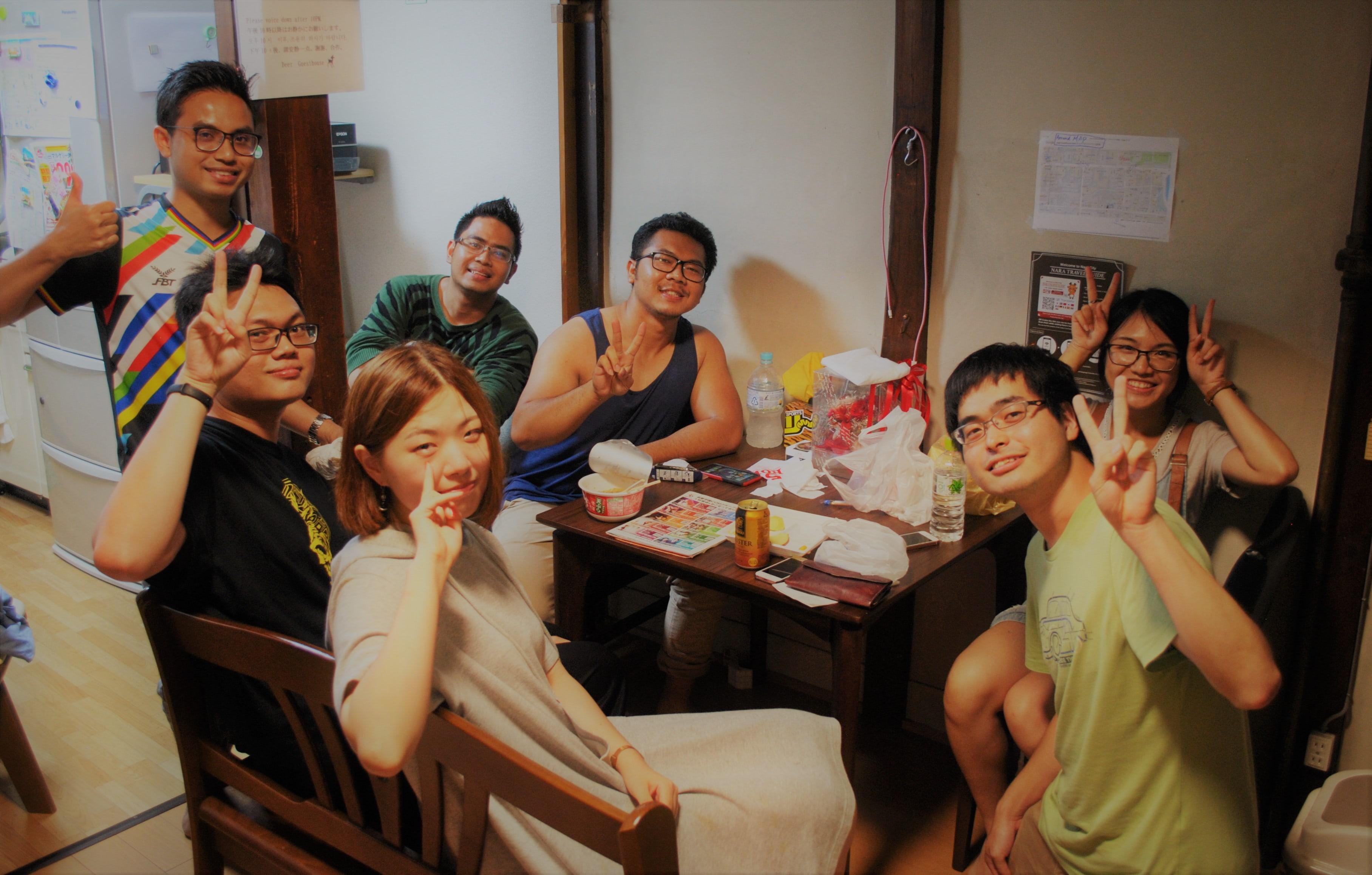 |奈良|ゲストハウス|奈良での思い出作りに参加しませんか?