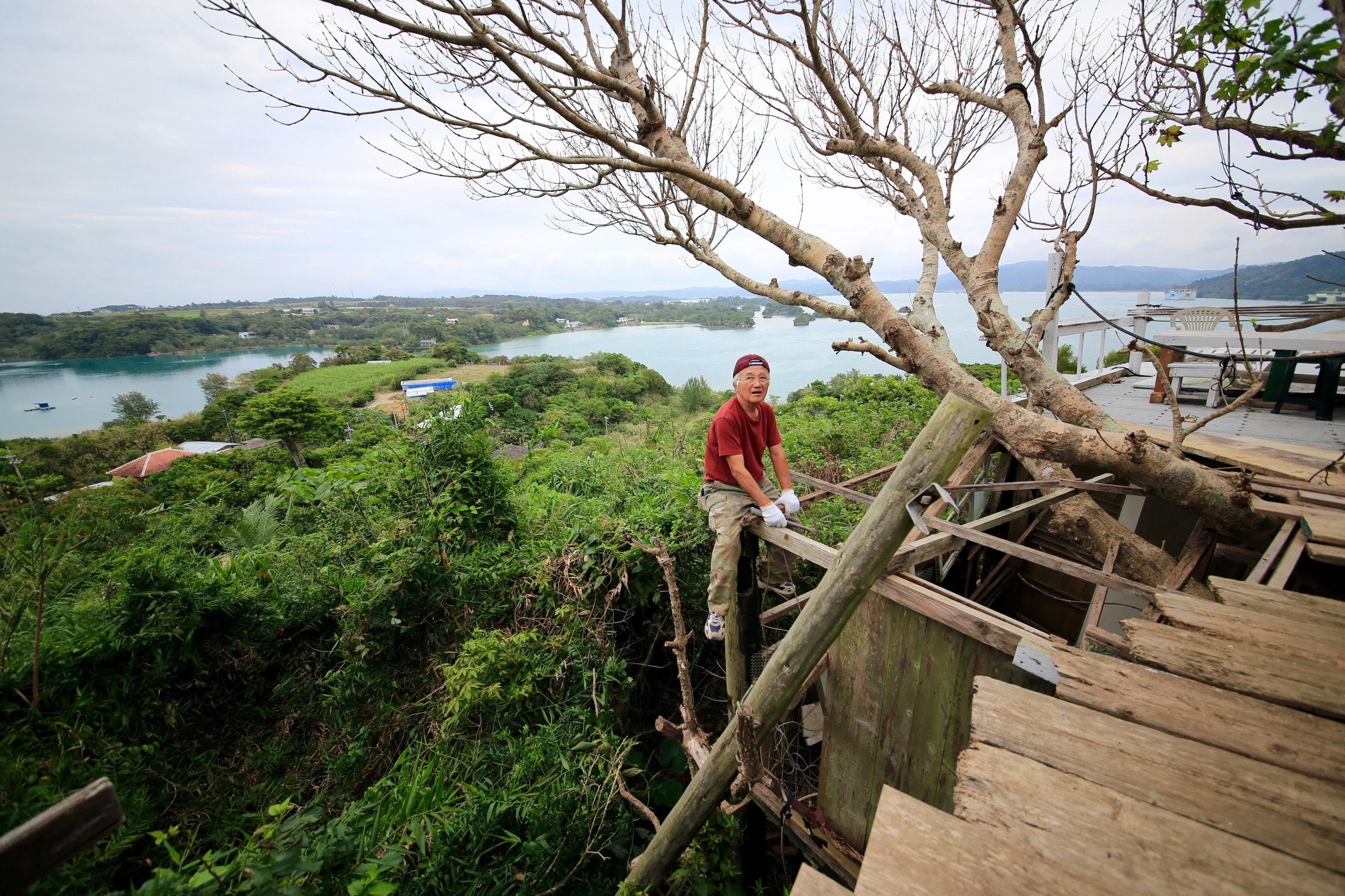 |その他|沖縄|海辺のキャンプ場と山のツリーハウス作り!