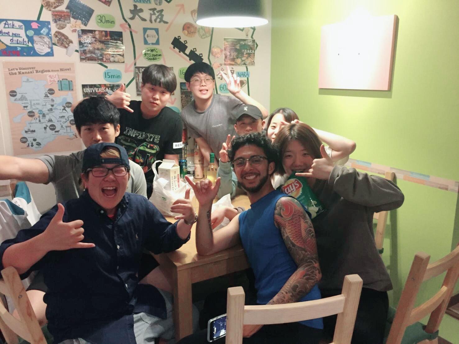 |大阪|ゲストハウス|梅田|【遊びも本気、仕事も本気】将来、ゲストハウスがしたい方へ!ノウハウ身につく!英語も身につく!