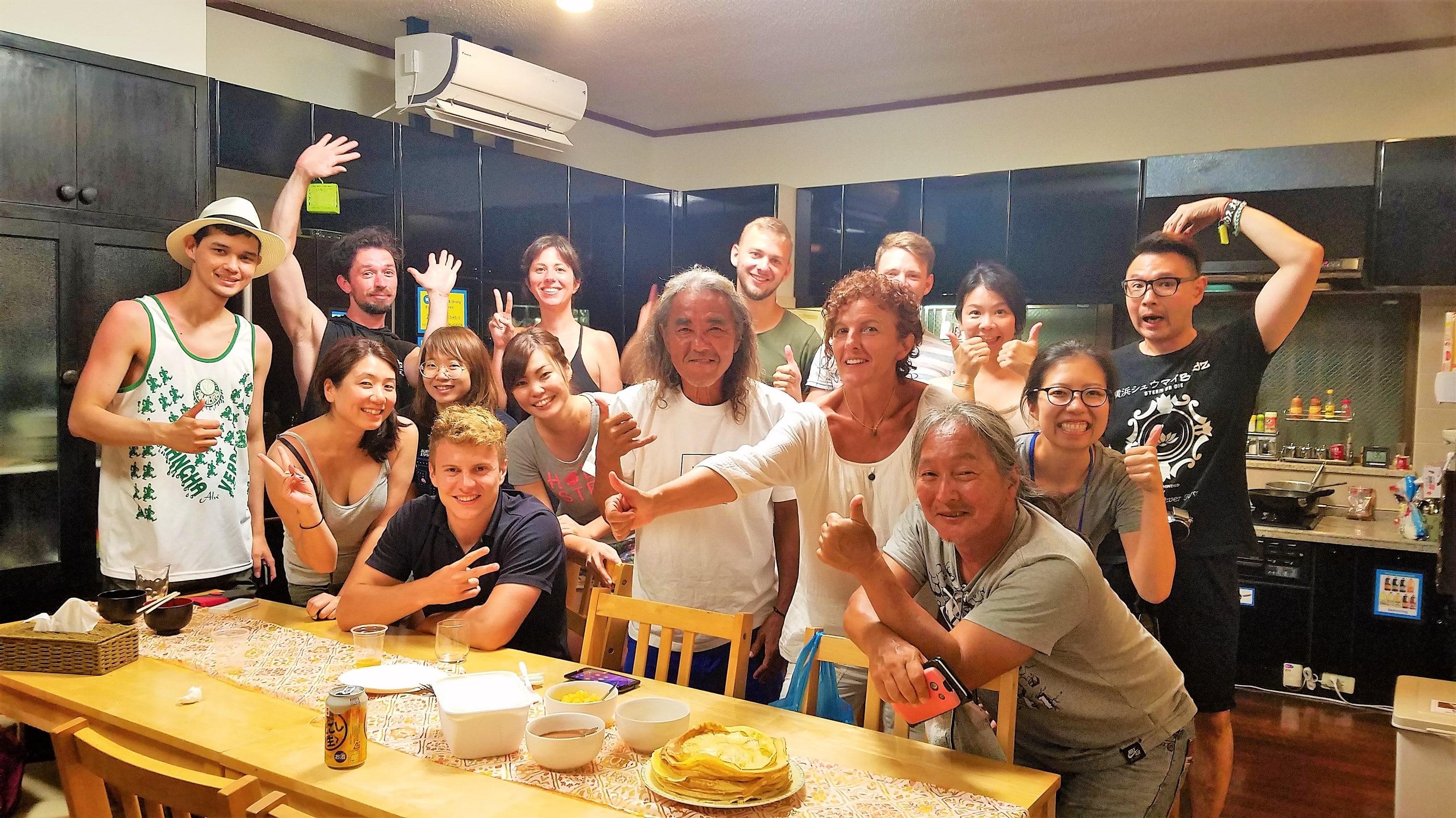 |沖縄|ゲストハウス|沖縄北部 清掃 ヘルパー マリン体験無料