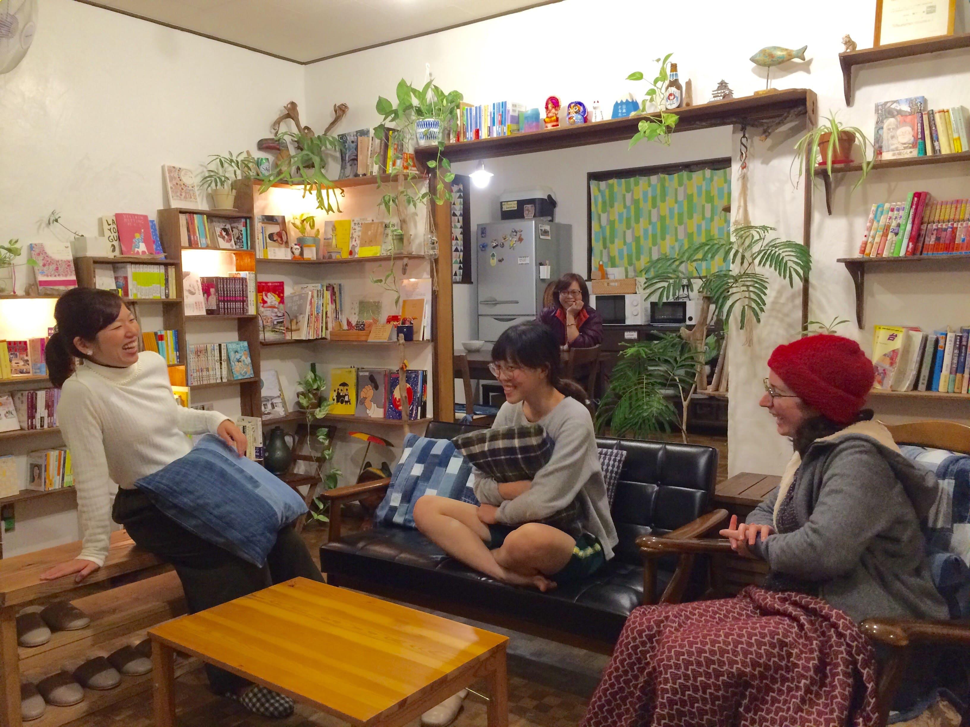 |大阪|ゲストハウス|大阪城近くの小さな女子宿☆フリアコスタッフ募集