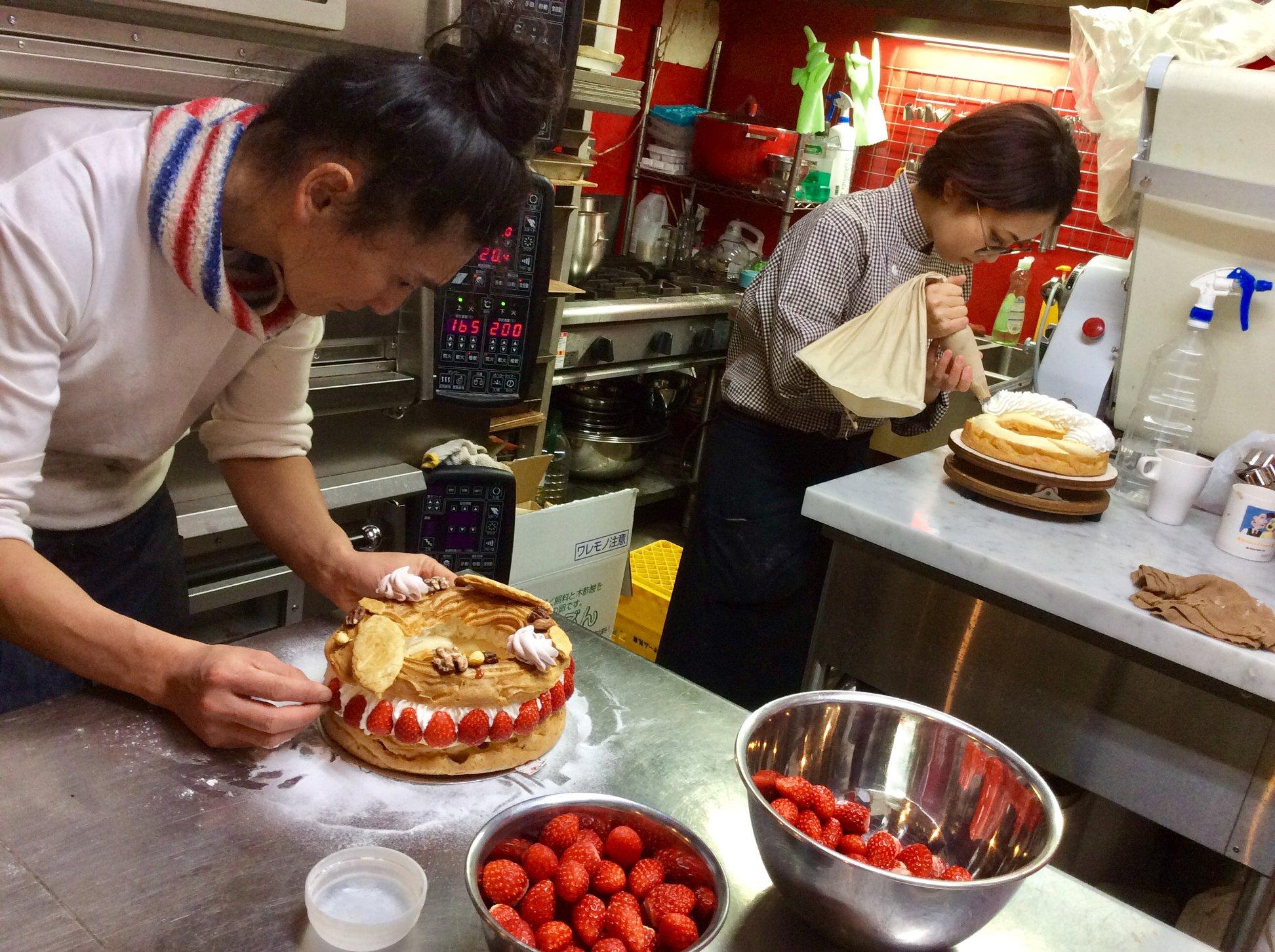|東京|ゲストハウス|ケーキも食べれる! フランス菓子屋を手伝いながら浅草に住んでみませんか?